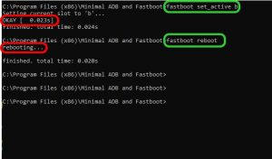 Fastboot set active