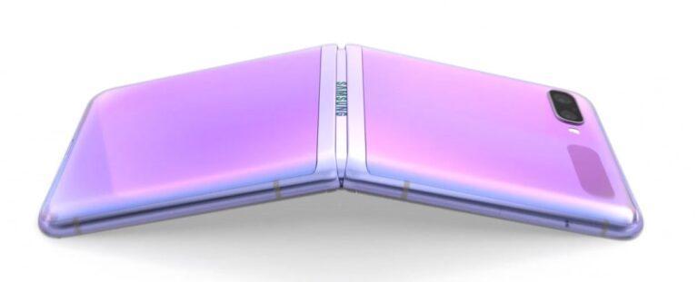 Cel mai subtire telefon 2020 Samsung Galaxy Z Flip