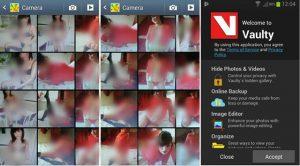 Vaulty - aplicatia Android care iti ascunde pozele