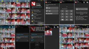 Vaulty - toate ecranele