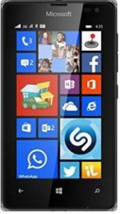 Imagine reprezentativa mica Microsoft Lumia 435