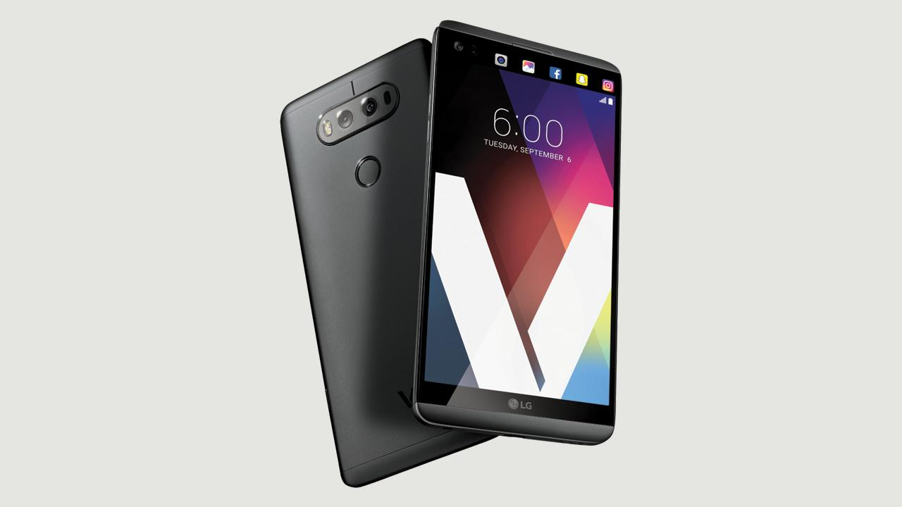 LG V20 - aspect
