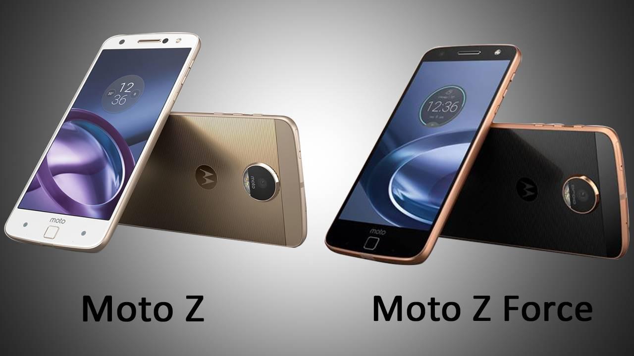 Moto Z si Moto Z Force