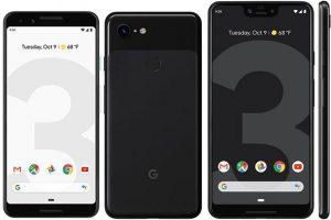 Google Pixel 3 si Google Pixel 3 XL